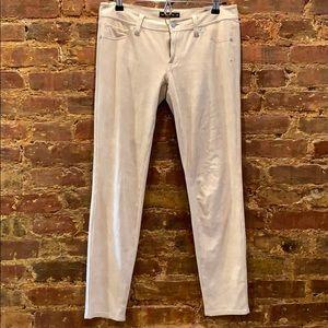 Genetic Denim The Shane Faux Suede Skinny Jeans